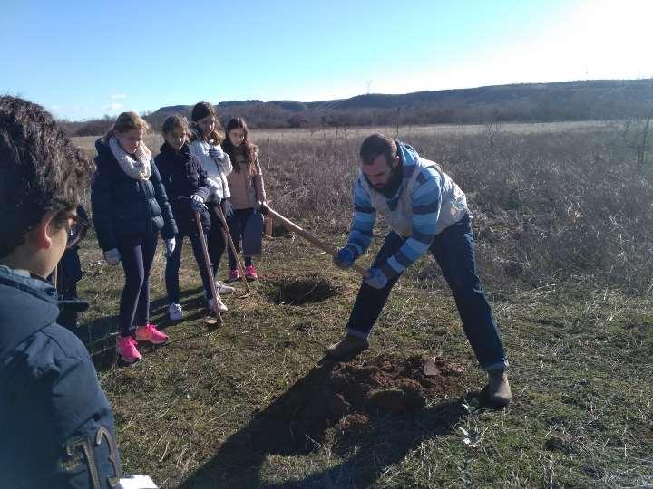 Voluntariado medioambiental con el Colegio Claret de Madrid