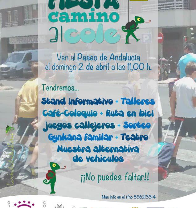 """Celebramos la primera Fiesta de la movilidad sostenible del proyecto """"Camino al Colegio, Camino Amable y Seguro"""""""
