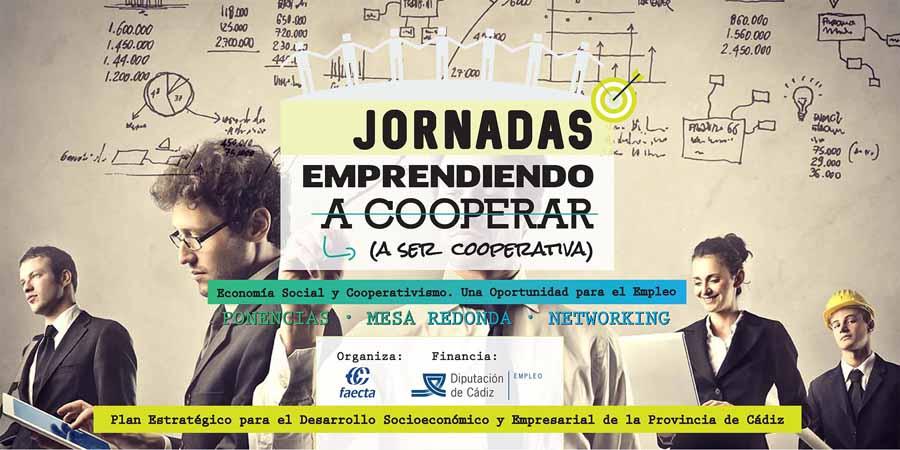 """Ecoherencia participa en la jornada """"Emprendiendo (a ser cooperativa)"""" que FAECTA ha organizado en la UCA"""