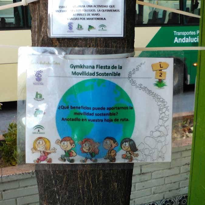 """Finalizamos las actividades de Gymkhana Urbana sobre Movilidad Sostenible del proyecto """"Camino al Colegio, Camino Amable y Seguro"""""""