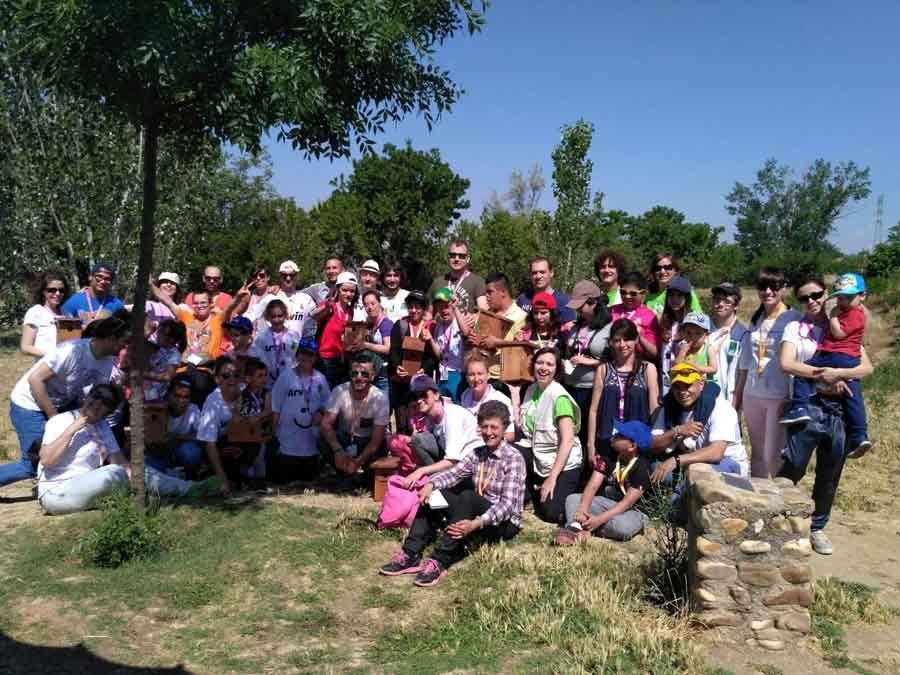 Voluntariado ambiental con Arval, Fundación Randstad y la Asociación Ángeles Urbanos