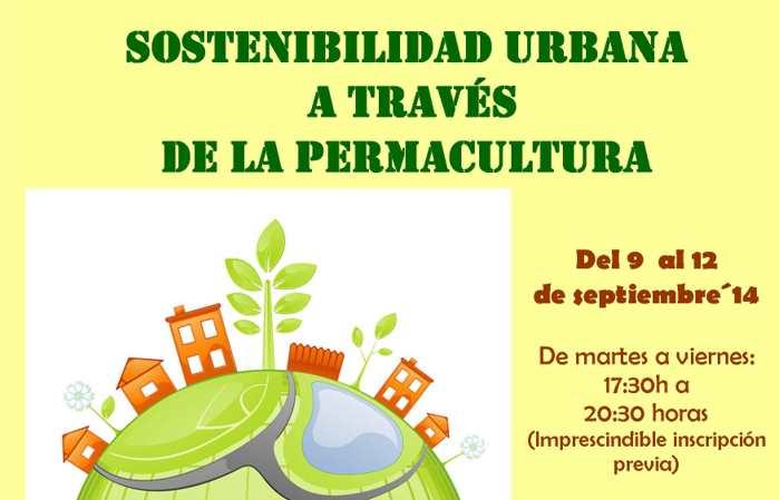 Curso: Sostenibilidad Urbana a través de la permacultura