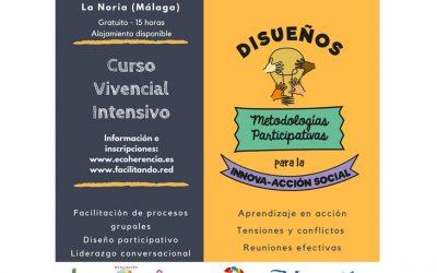 Curso intensivo Disueños: Metodologías participativas para la innova-acción social. ¡Inscripciones abiertas!