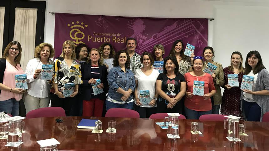 Presentación en el Ayuntamiento de Puerto Real de la Guía Didáctica de Movilidad Sostenible