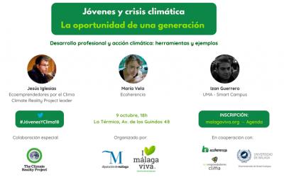 Jóvenes, emprendimiento y cambio climático en La Térmica (Málaga)