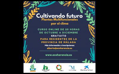 """Inscríbete al curso """"Cultivando futuro: Plantas multifuncionales por el clima"""""""