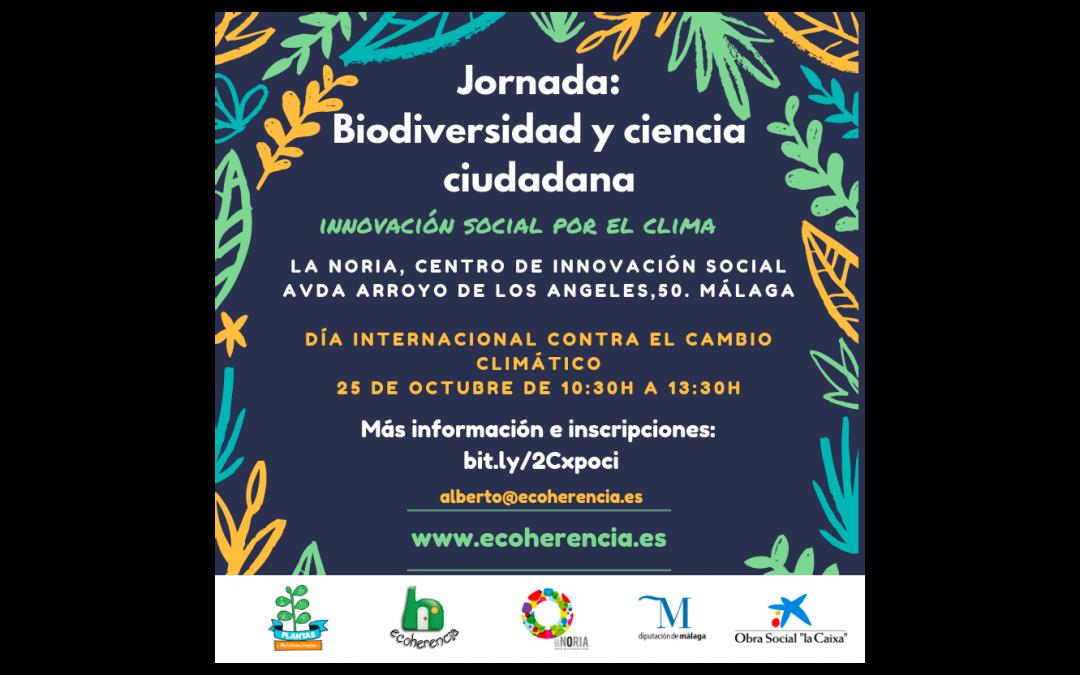 Jornadas Biodiversidad y ciencia ciudadana. Innovación social por el clima