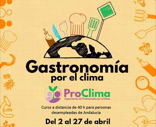 ProClima: Curso de Gastronomía por el clima