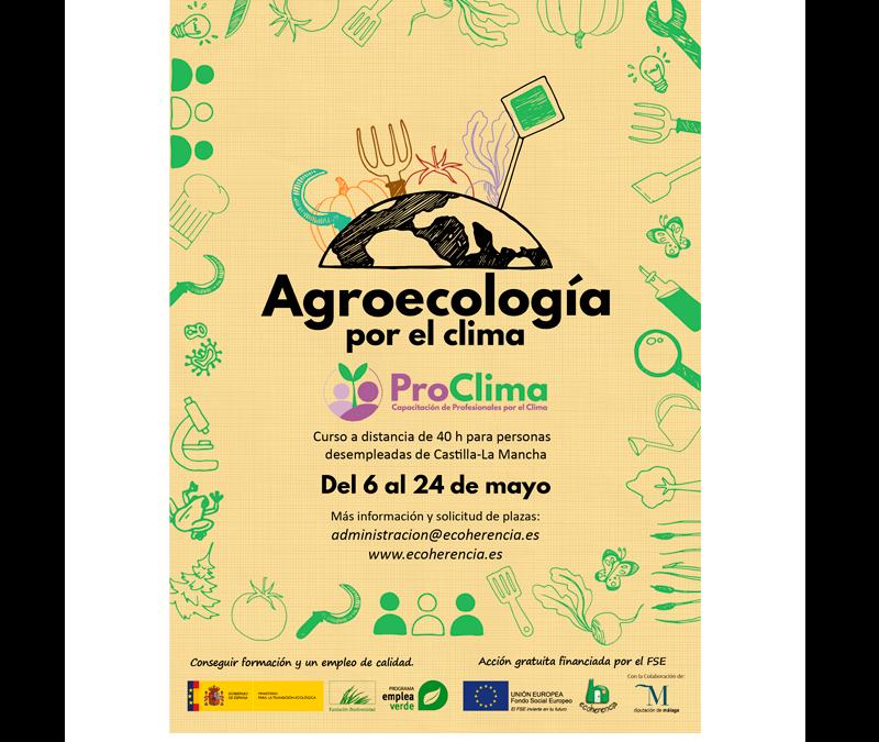 Abrimos inscripciones para el curso Agroecología por el clima