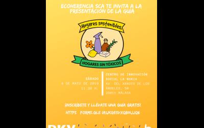 Presentación de la guía Hogares sostenibles, hogares sin tóxicos en Málaga