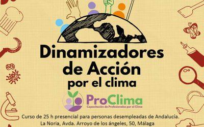 Dinamizadores de acción por el clima, ¿te atreves a pasar a la acción por el clima?