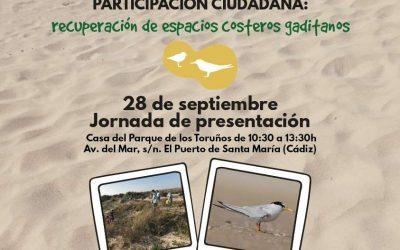 Restauración de ecosistemas y participación ciudadana: recuperación de espacios costeros gaditanos