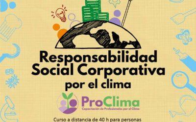 RSC por el clima. Curso semipresencial en Extremadura